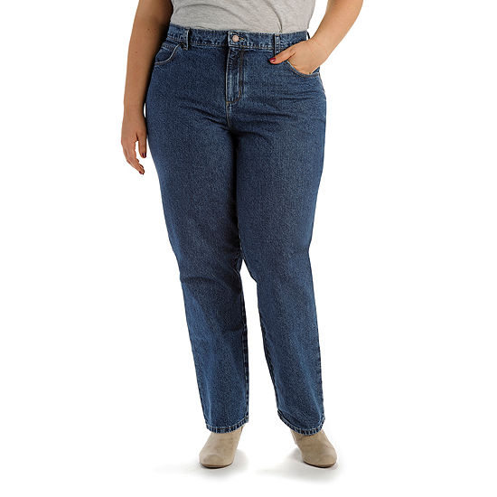 990c8b40c66 Lee 100% Cotton Relaxed Fit Jean Plus JCPenney