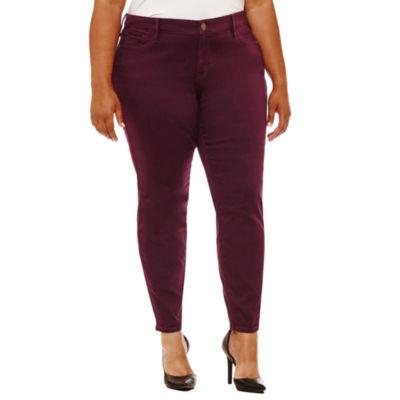 Boutique + Skinny Fit Jean-Plus