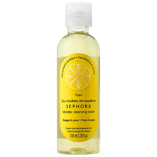 SEPHORA COLLECTION Micellar Cleansing Water & Milk - Yuzu, Color ...