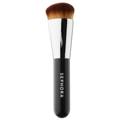 SEPHORA COLLECTION PRO Mini Press Full Coverage Complexion Brush #66.5