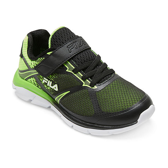 Fila Primeforce Strap Boys Hook and Loop Running Shoes