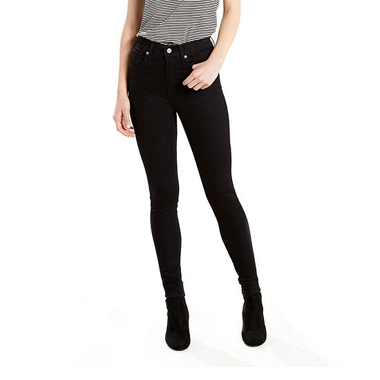 Levi's Mile High Super Skinny Womens High Waisted Skinny Fit Jean