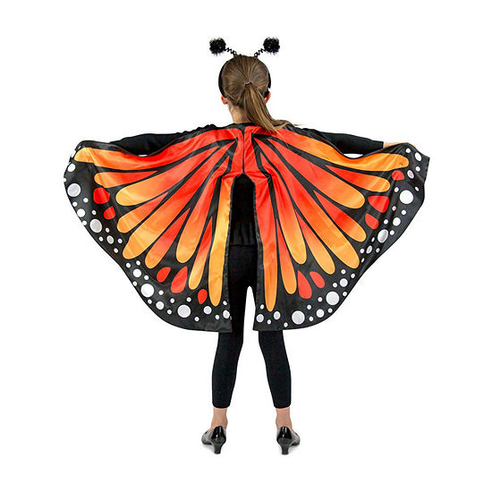 Monarch Butterfly Cape Child Girls Costume
