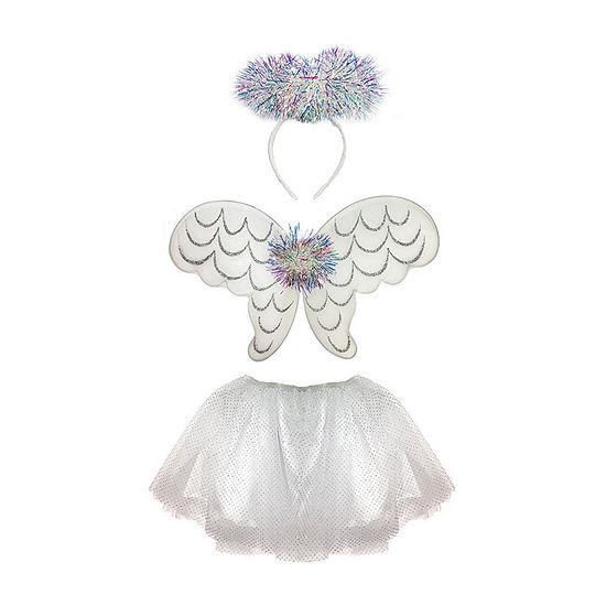 Girl's Tinsel Angel Skirt Set