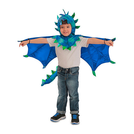 Child Hooded Sully Dragon Costume Unisex Costume