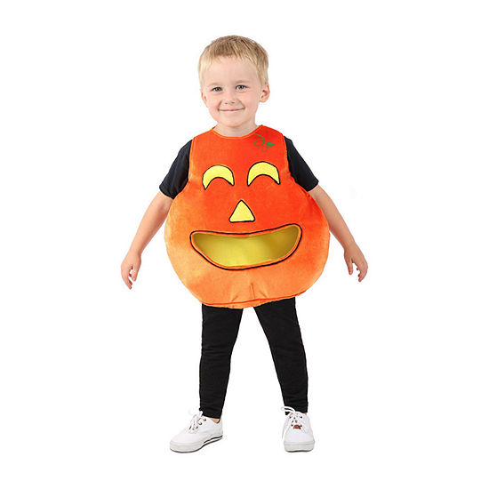 Child Feed Me™ Pumpkin Dress Up Costume Unisex