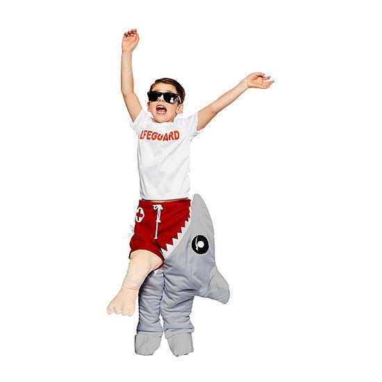 Child Life Guard & Shark Attack Costume Unisex Costume