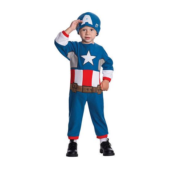 Captain America 2-pc Dress Up Costume - Infant/Toddler Boys
