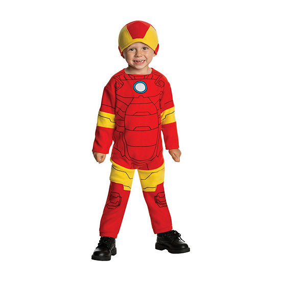 Iron Man Infant/Toddler Costume 2-pc. Iron Man Dress Up Costume-Boys
