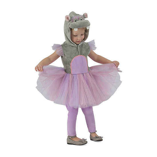 Girl'S Princess Hippo Child Costume