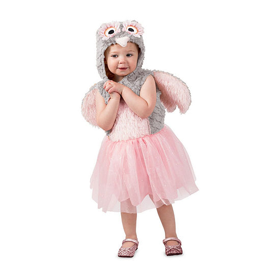 Girl's Odette The Owl Child Dress Up Costume