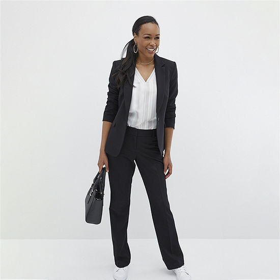 Worthington Essential Flap Pocket Blazer