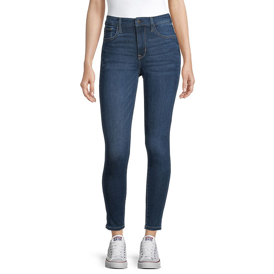 Arizona Womens High Rise Skinny Jeggings - Juniors