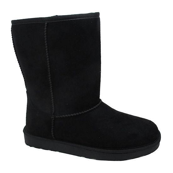 Pop Womens Stratton Flat Heel Booties