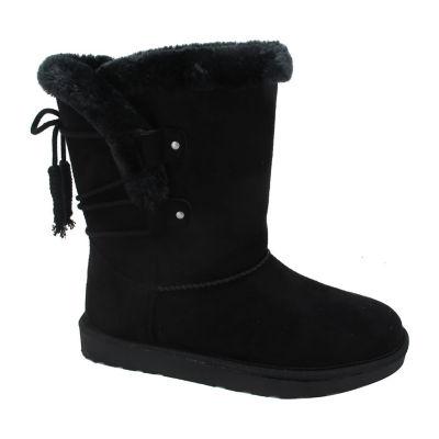 Pop Womens Surrey Booties Flat Heel