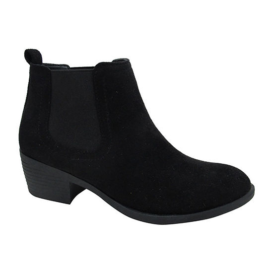 Pop Womens Emmy Block Heel Booties