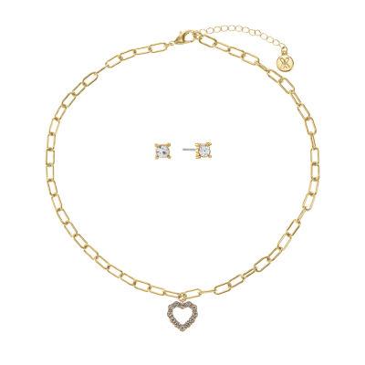 Mixit Heart 2-pc. Jewelry Set