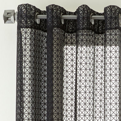 Studio™ Shifts Burnout Grommet-Top Curtain Panel