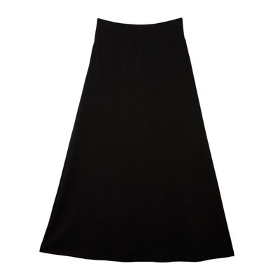 by&by Black Maxi Skirt - Girls 7-16