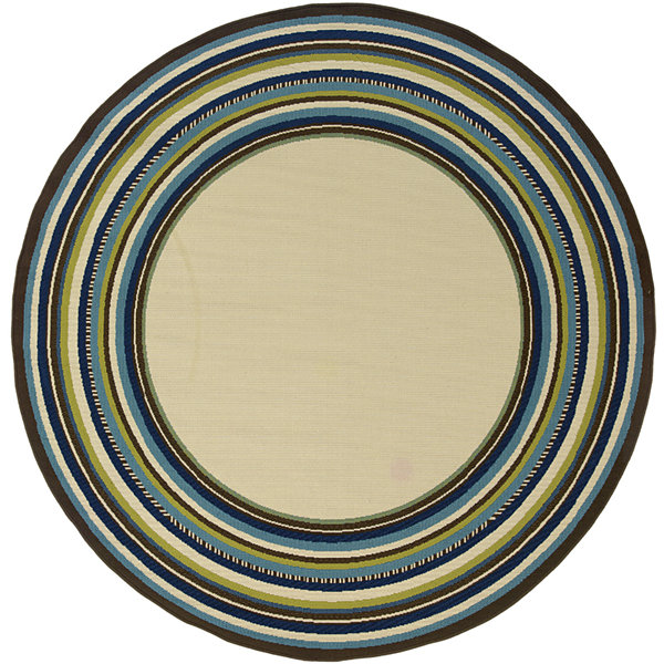 Covington Home South Hampton Indoor/Outdoor RoundRug