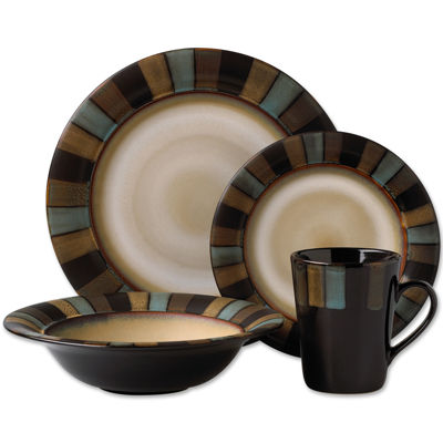 Dinnerware Set  sc 1 st  JCPenney & Pfaltzgraff® Galaxy Red 16-pc. Reactive Glaze Dinnerware Set - JCPenney
