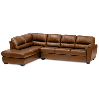 jcpenney.com | Leather Possibilities 2-pc. Left- Arm Corner Chaise/Sofa Sectional