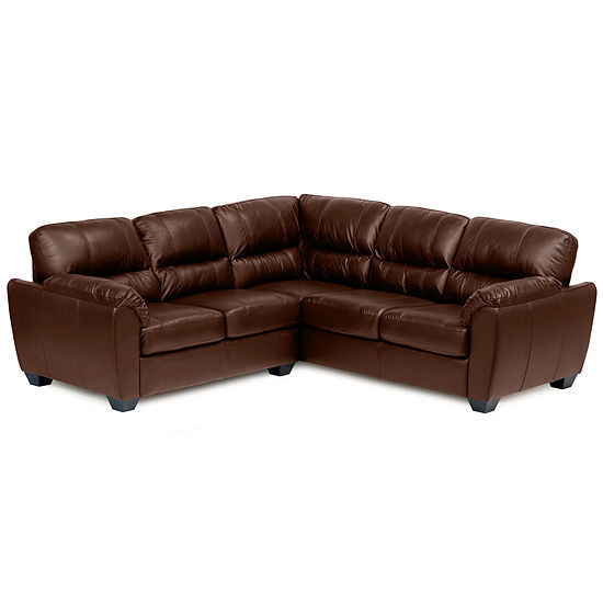 Leather Possibilities Pad Arm 2 Pc Right Arm Corner Sectional