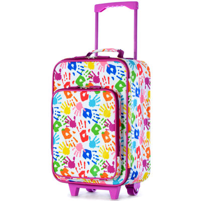 """Playday Collection 19"""" Carry-On Upright Luggage"""