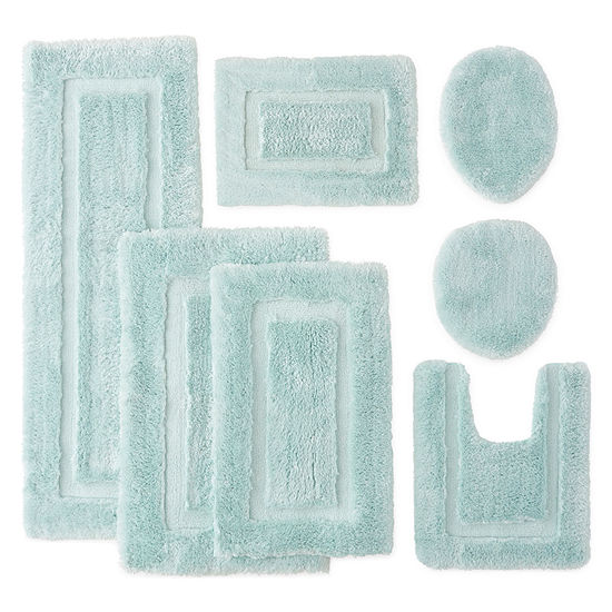Chiffon Super Soft Bath Rug Collection