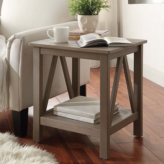 Jcpenney Table: Titian Square End Table-JCPenney