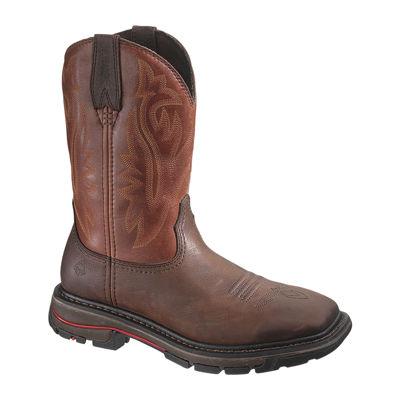 Wolverine® Steel-Toe Javelina Wellington Mens Work Boots