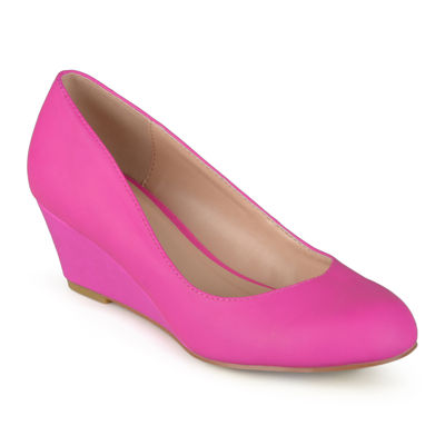 Journee Collection Dolup Wedge Pumps