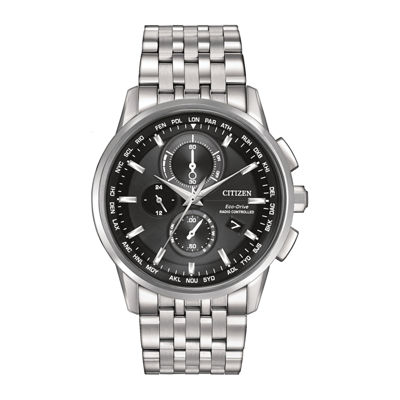 Citizen® Eco-Drive® World Chronograph A-T Mens Watch AT8110-53E