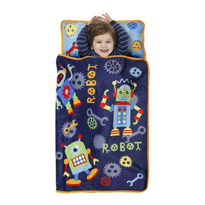 Baby Boom Robots Nap Mat