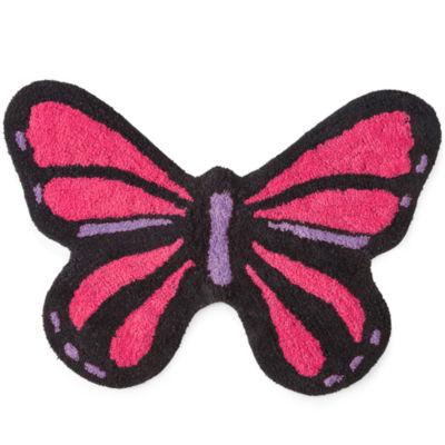 Butterfly Bath Rug