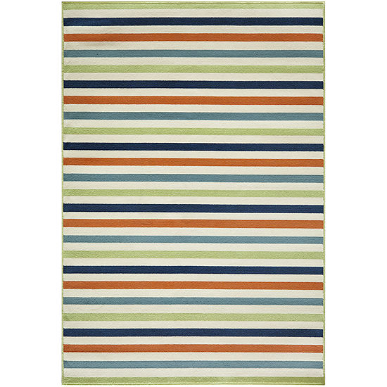Momeni Baja Stripe Indoor Outdoor Rug Collection