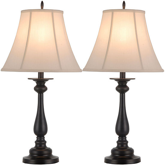 Jcpenney home set of 2 hennessey table lamps jcpenney jcpenney home set of 2 hennessey table lamps aloadofball Images