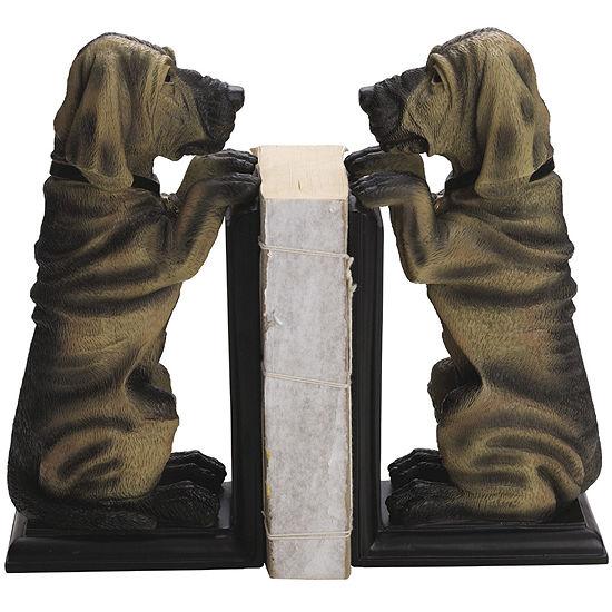 Set of 2 Hound Dog Bookends