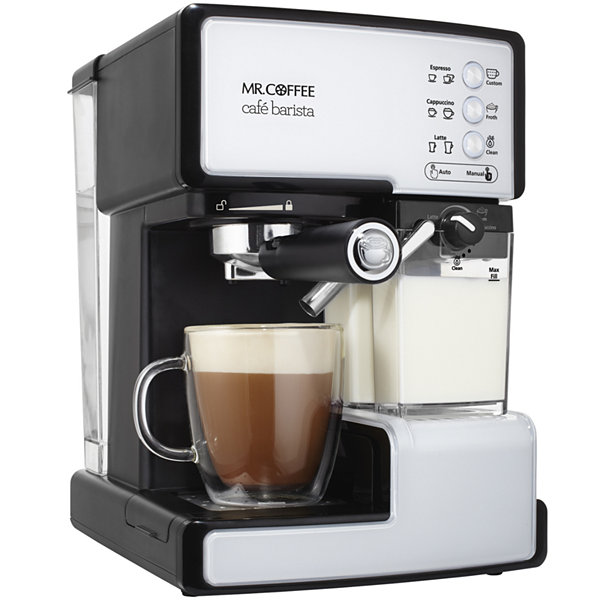 Mr Coffee Café Barista Espresso Maker With Automatic Milk Frother