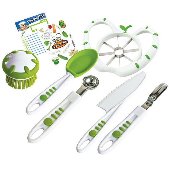 Curious Chef® 6-pc. Fruit and Veggie Prep Kit