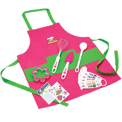 Curious Chef® 11-pc. Girls Chef Kit with Apron