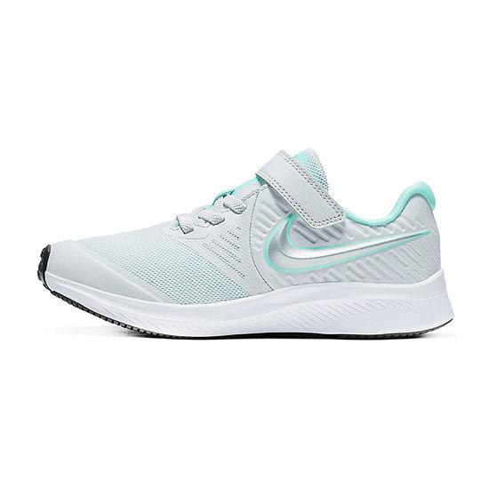 Nike Star Runner Little Kids Girls Hook and Loop Sneakers