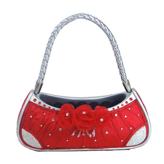 Red Purse Ring Holder