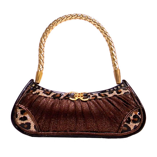 Leopard Handbag Ring Holder