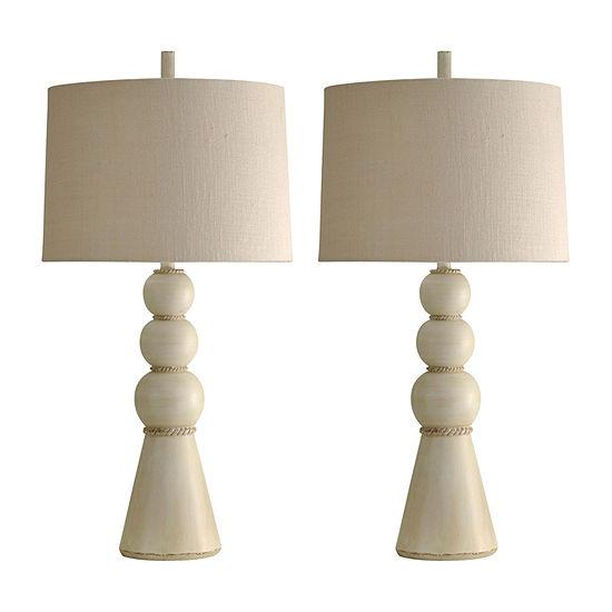 Stylecraft Beaufort Set Of 2-pc. Lamp Set