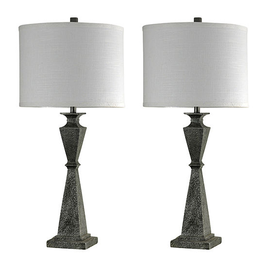Stylecraft Valley Forge Set Of 2-pc. Lamp Set