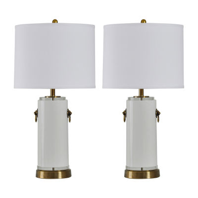 Stylecraft Accentuation Set Of 2-pc. Lamp Set