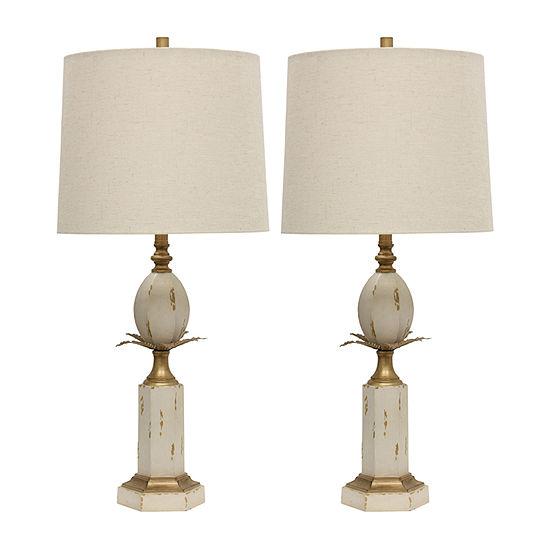 Stylecraft Orla Set Of 2-pc. Lamp Set