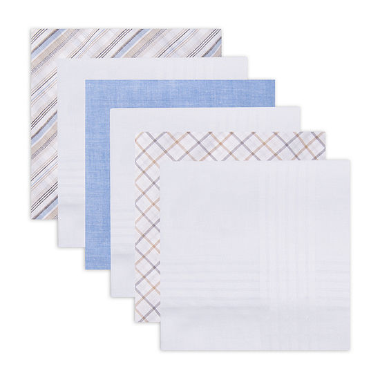 Dockers® 6 Pack Handkerchief Set