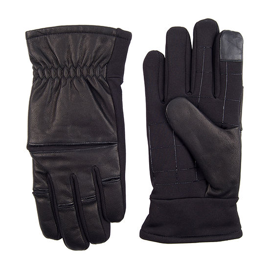 Exact Fit™ Leather Stretch Knuckle Men's Glove